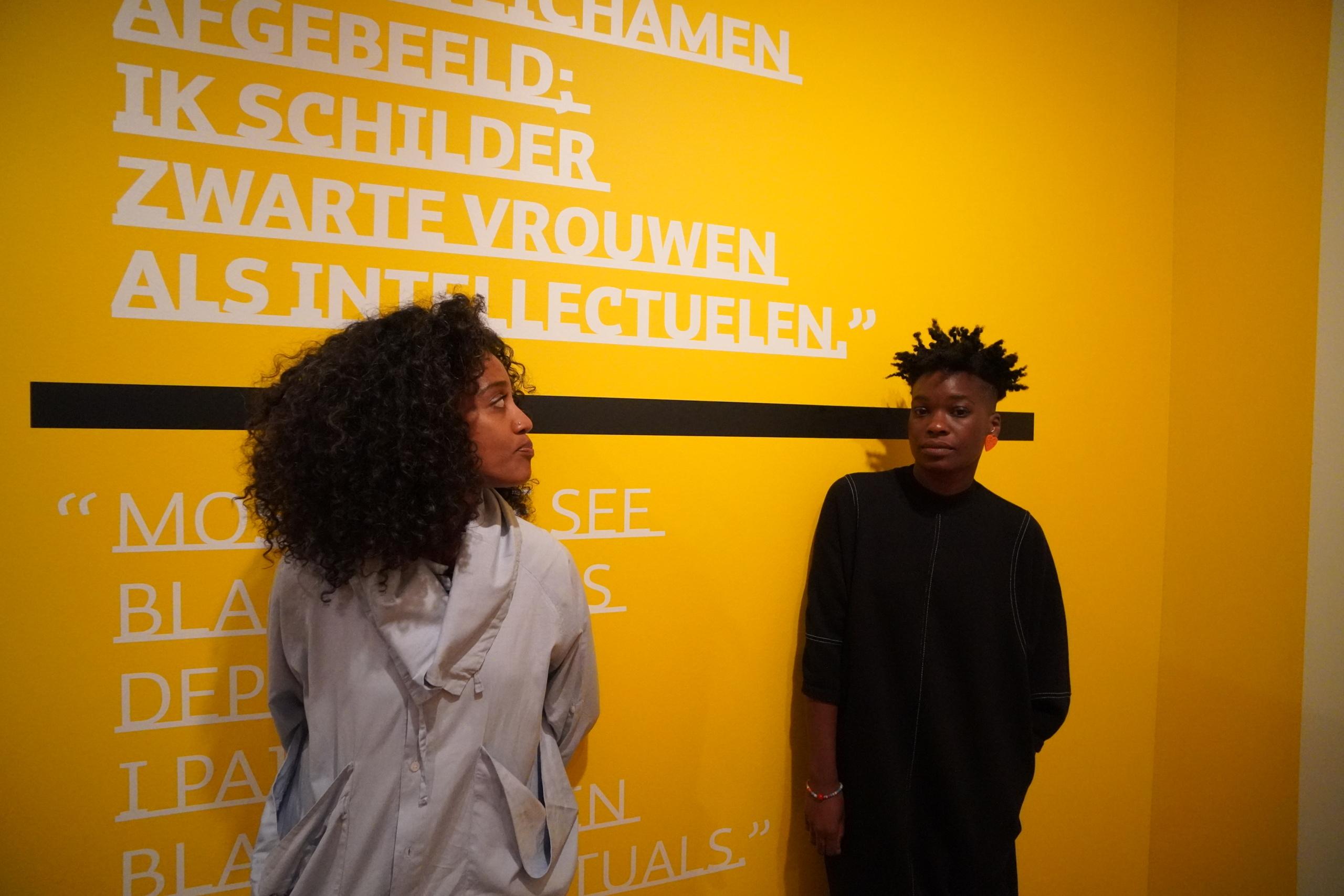 Vlog: oog-in-oog met zwarte mensen